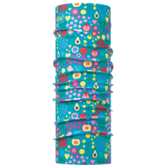 Бандана BUFF POLAR BABY WINTER FRUITS TURQUOISE / BLUE CAPRI