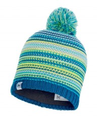 Шапка Buff JR KNITTED & POLAR HAT AMITY TURQUOISE JR (US:one size)